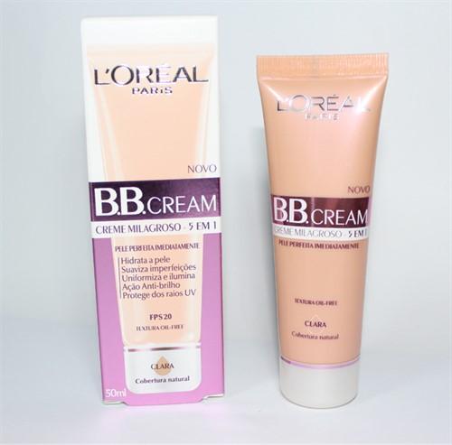Bb Cream Para Olhos Loréal Paris Cor Clara - 15ml