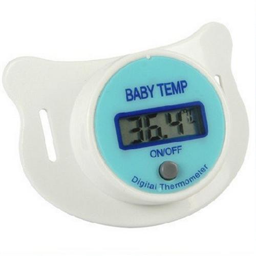 Termômetro Digital Chupeta Azul