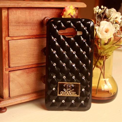 Capa Case Galaxy Grand Prime G530 Capinha Chanel Strass Luxo