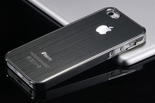 Capa Case Iphone 5 e 5s - Apple - Luxo Alumínio Escovado
