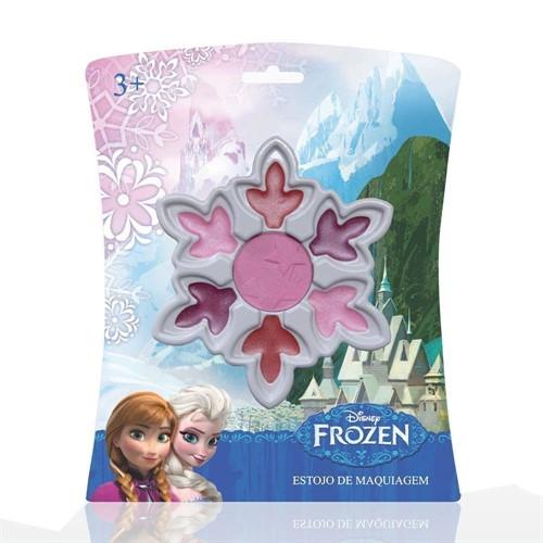 Kit Estojo De Maquiagem Frozen Cristal De Neve - Original