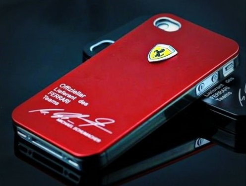 Capa Case Ferrari Schumacher Iphone 4/4s/4gs Grátis Película
