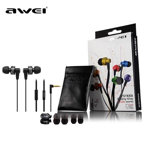 Fone De Ouvido Auricular Super Bass Microfone Awei Es900i