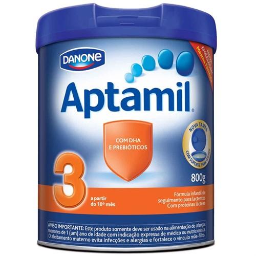 Leite Aptamil 3 800 Gramas Kit com 6 latas