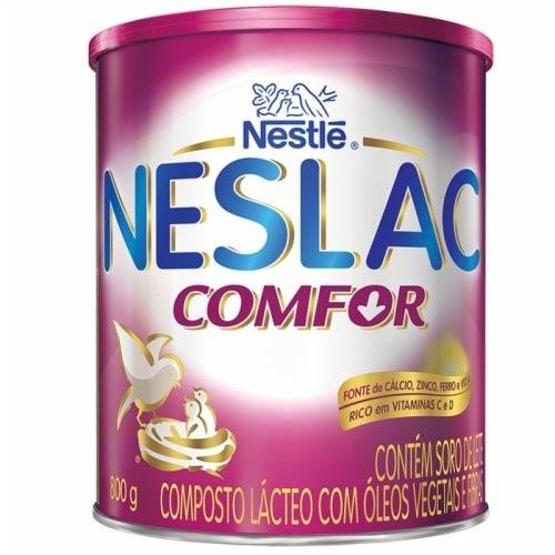 Leite Neslac Confor 800 Gramas Kit com 3 latas