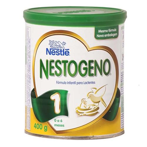 Leite Nestogeno 1 400g 0 a 6 Meses Kit com 3 latas