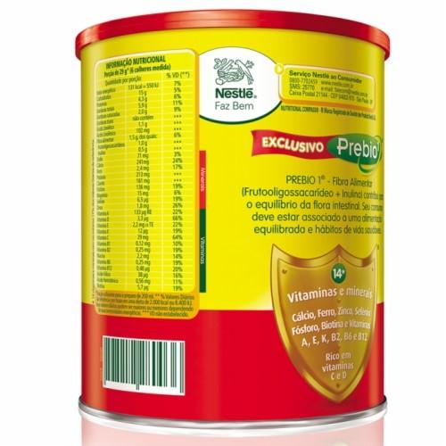 Leite Ninho Fases 1+ 400g Kit com 6 latas