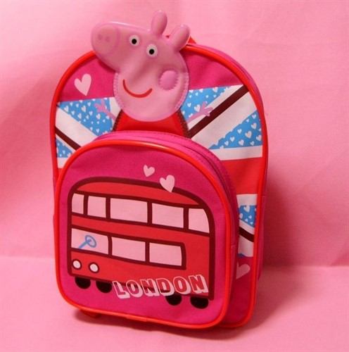 Mochila Infantil Da Peppa Pig - Modelo London