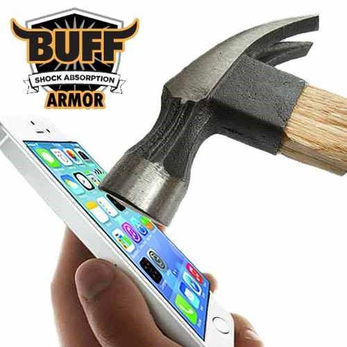 Película Buff Iphone 4 / 4 S Armor Original Anti-shock/risco
