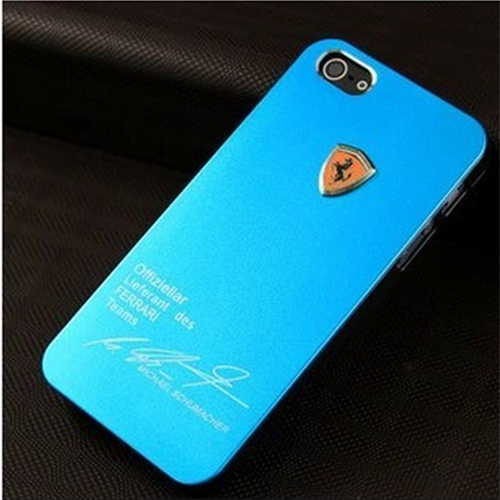 Case para Iphone 5 e 5S Michael Schumacher - Azul