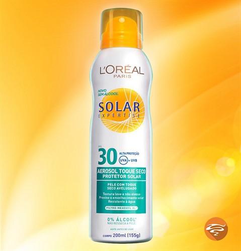 Protetor Solar Loreal Spray Aerosol Fps 30 Sem Álcool 200ml