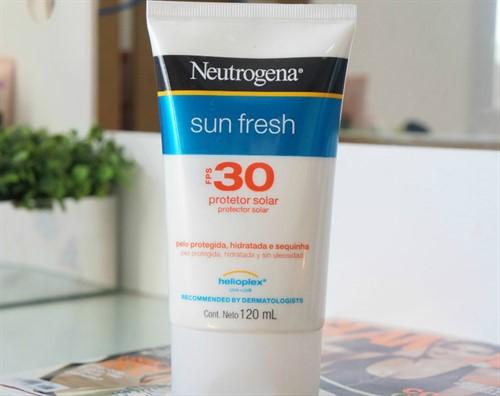 Protetor Solar Neutrogena Sun Fresh Fps 30 Corpo 120ml