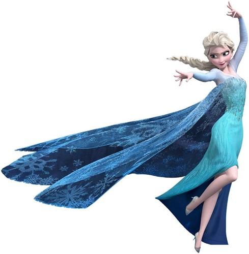 Adesivo Papel De Parede Frozen Rainha Elsa - Removível