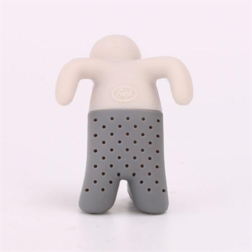 Boneco Mr. Tea Filtro de Chá Criativo em Silicone