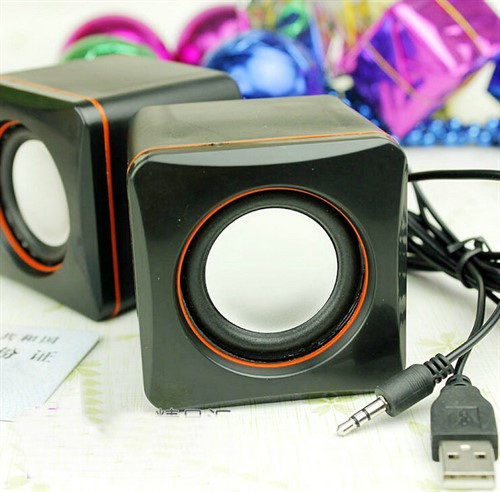 Caixinha de Som Portátil Speaker 2.0 Mini 3w Rms Usb