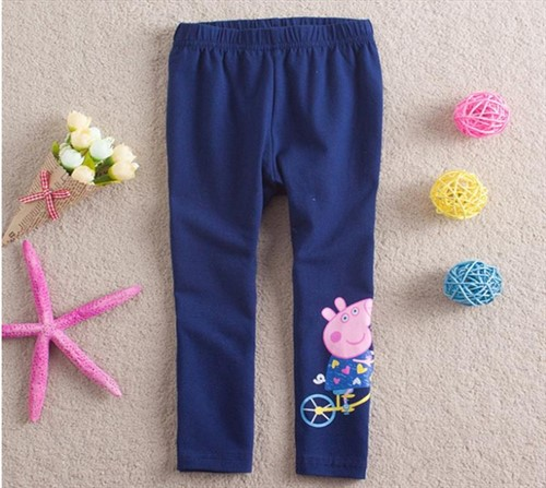 Calça Legging Peppa Pig - Rosa Ou Azul