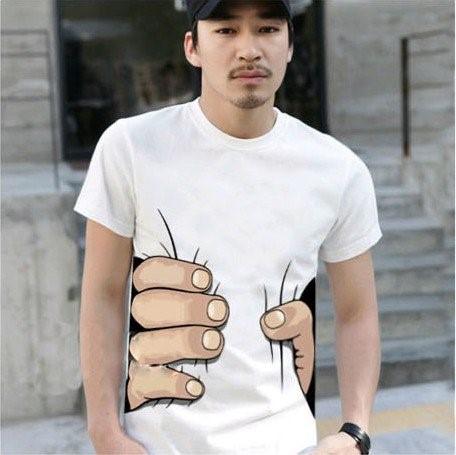 Camiseta Masculina Mão Grande - Criativa