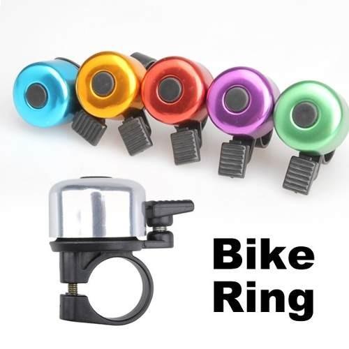 Campainha de Guidão para Bicicleta Colorida - Bike