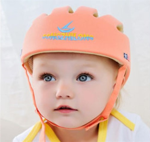 Capacete De Proteção Para Bebê Engatinhar - Meninas
