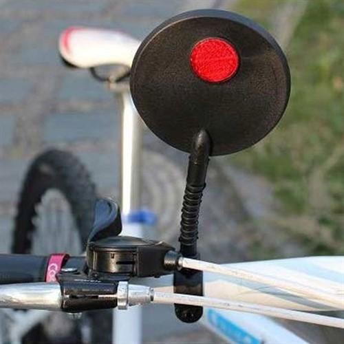Espelho Retrovisor Regulável Bike Bicicleta Refletor Noturno
