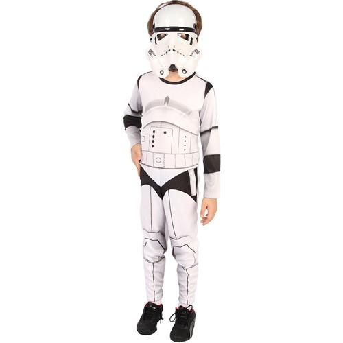 Fantasia Star Wars Infantil Stormtrooper Original Rubies