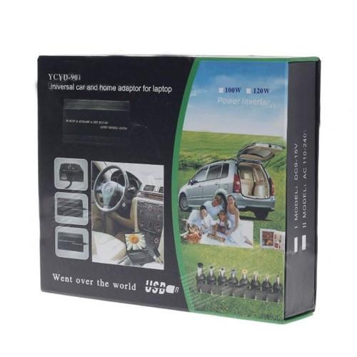 Fonte De Carro Universal Para Notebook 100w 12v - YCYD-901