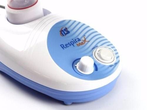 Inalador Ultrassônico Nebulizador Ns Respiramax Uso Deitado