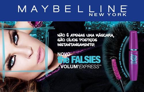 Máscara Rímel Maybelline The Falsies Waterproof Original