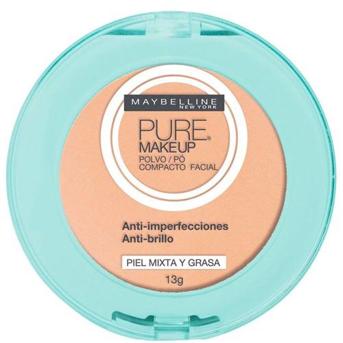 Maybelline Pure Makeup Pó Compacto 13g Bege Claro