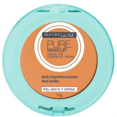 Maybelline Pure Makeup Pó Compacto 13g Dourado