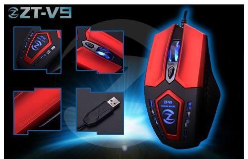 Mouse Zexus Zt-v9 Design Profissional
