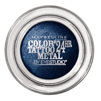 Sombra Color Tattoo Maybelline Metallics 24h Electric Blue