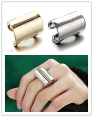 Anel Fashion Light - Folheado A Ouro 18k Ou Prata