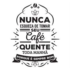 Adesivo De Parede Decorativo Café Cozinha Geladeira 33x43cm