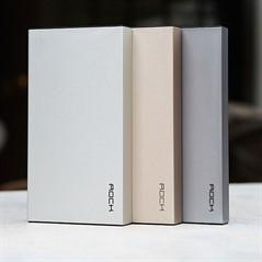 Bateria Portátil Rock Stone Power Bank 10000mAh USB 3.1A
