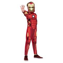 Fantasia Homem de Ferro Longa Iron Man Vingadores Rubies