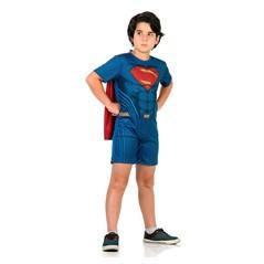 Fantasia Super-Homem Superman Curta Infantil Sulamericana