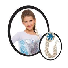 Trança Fantasia Elsa Frozen Rubies