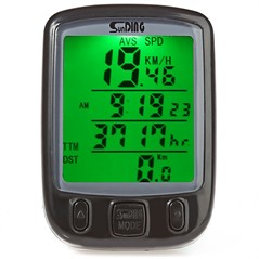 Velocímetro Odômetro Digital Bicicleta Bike Sunding 563a Luz
