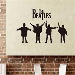Adesivo de Parede Beatles Removível - Help