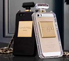 Capa Capinha Case Chanel Strass Luxo Iphone 4 4s + Película