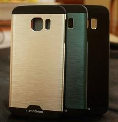 Capa Case Motomo Alumínio Escovado Galaxy S6 Edge G925
