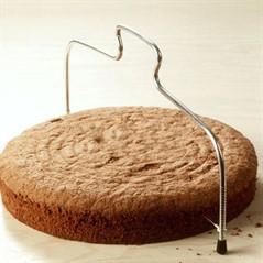 Cortador Fatiador De Bolos E Tortas Em Aço Inox Regulável