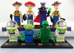 Lego Toy Story - Kit Com 8 Bonecos Marca Sworld