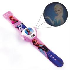 Relógio Frozen Projetor de Imagem Princesa Anna