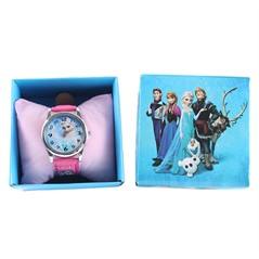 Relógio Frozen Princesa Anna e Elsa
