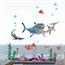 Adesivo Papel de Parede Procurando Nemo – Removível