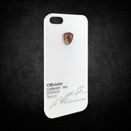 Capa Case Ferrari Schumacher Iphone 5/5S Grátis Película