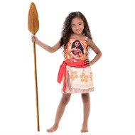 Fantasia Infantil Moana Personagem Rubies Original Disney