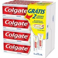 Kit Pasta Creme Dental Colgate Total 12 90g com 12 unidades